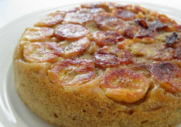 Bánh bông lan chuối bằng nồi cơm điện có hương vị thơm ngon với cách chế biến đơn giản