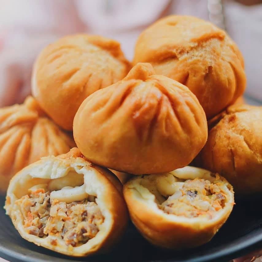 Bánh bao chiên truyền thống lựa chọn hoàn hảo thay đổi cho thực đơn bữa sáng của gia đình