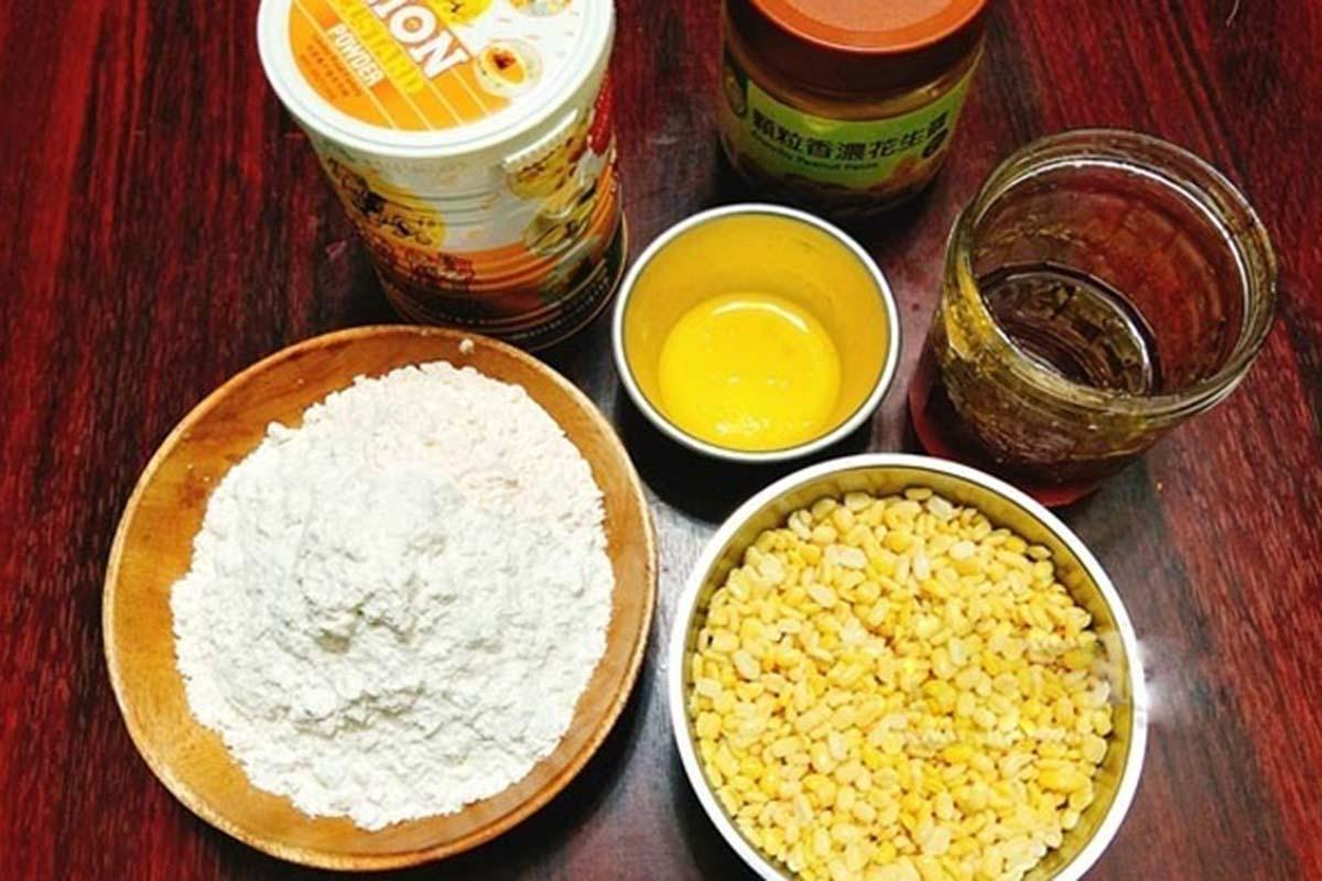 Những nguyên liệu cần chuẩn bị khi làm bánh bao nhân đậu xanh