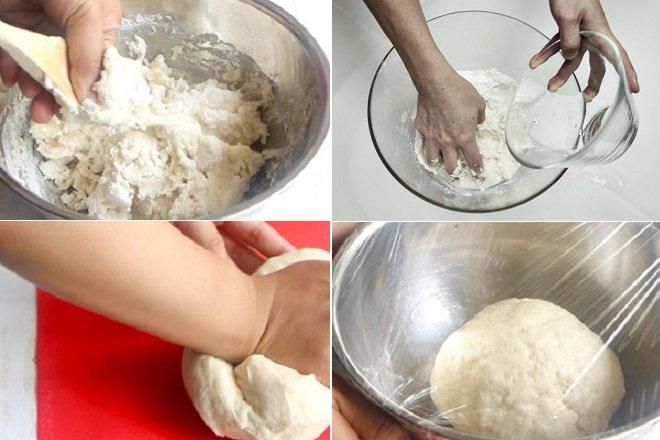 Ủ bột trong khoảng 20 phút cho tới khi nở gấp đôi