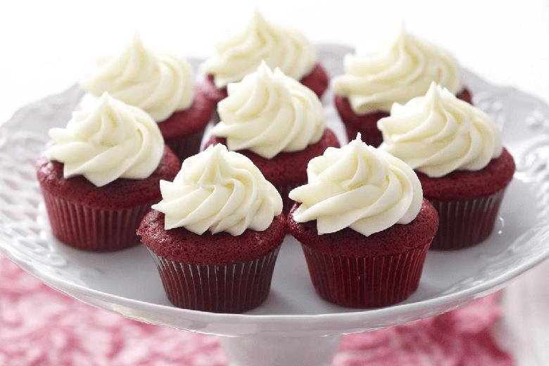 Bánh cupcake nướng bằng nồi chiên không dầu có thể bảo quản từ 2 - 3 ngày