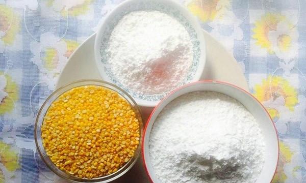 Những nguyên liệu cần chuẩn bị cho món bánh dày nhân mặn