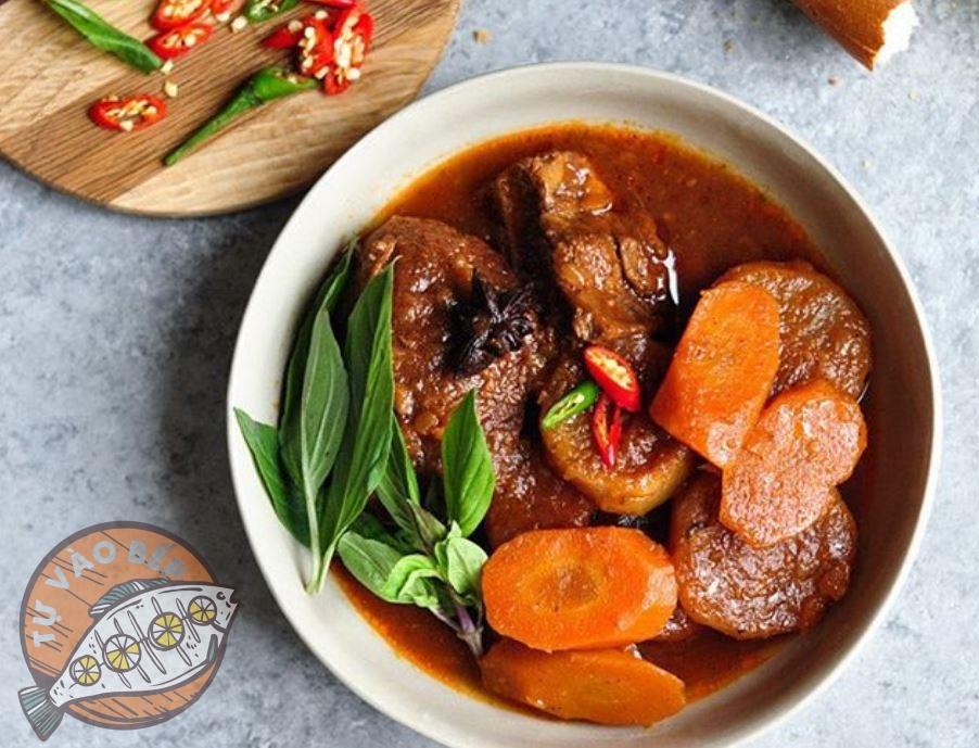 Cách nấu bò kho cà rốt
