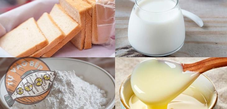 Chuẩn bị sẵn sàng các nguyên liệu để làm bánh