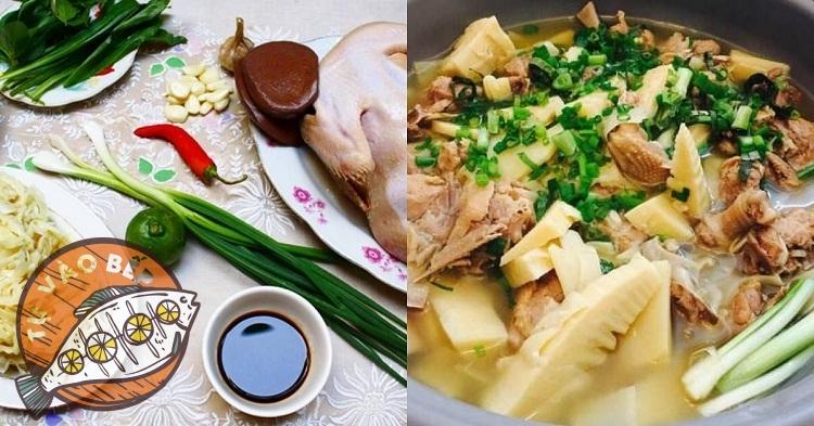 Cách làm vịt nấu măng tươi