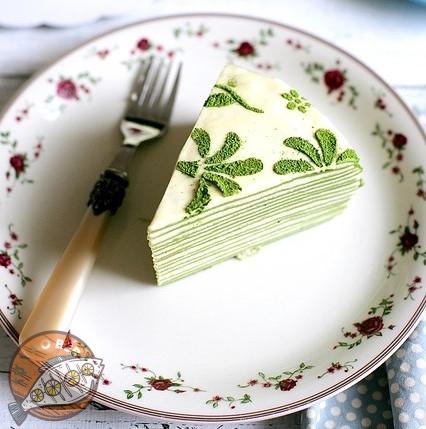 Hướng dẫn cách làm bánh crepe trà xanh