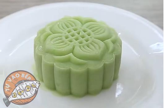 Và đây, thành quả của bạn với cách làm bánh trung thu trà xanh - dẻo