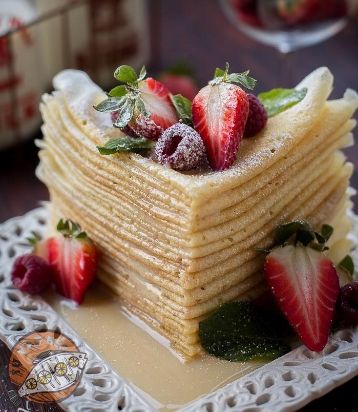 Cách làm bánh crepe kem tươi - Choux Pastry Buttermilk
