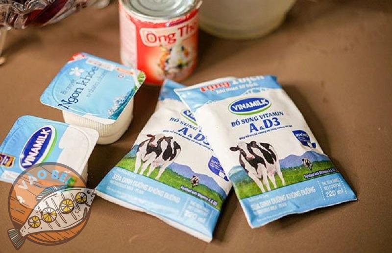 Những loại sữa cần thiết để làm sữa chua nếp cẩm