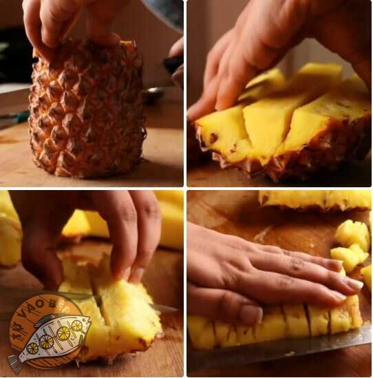 cách làm kem dứa đơn giản