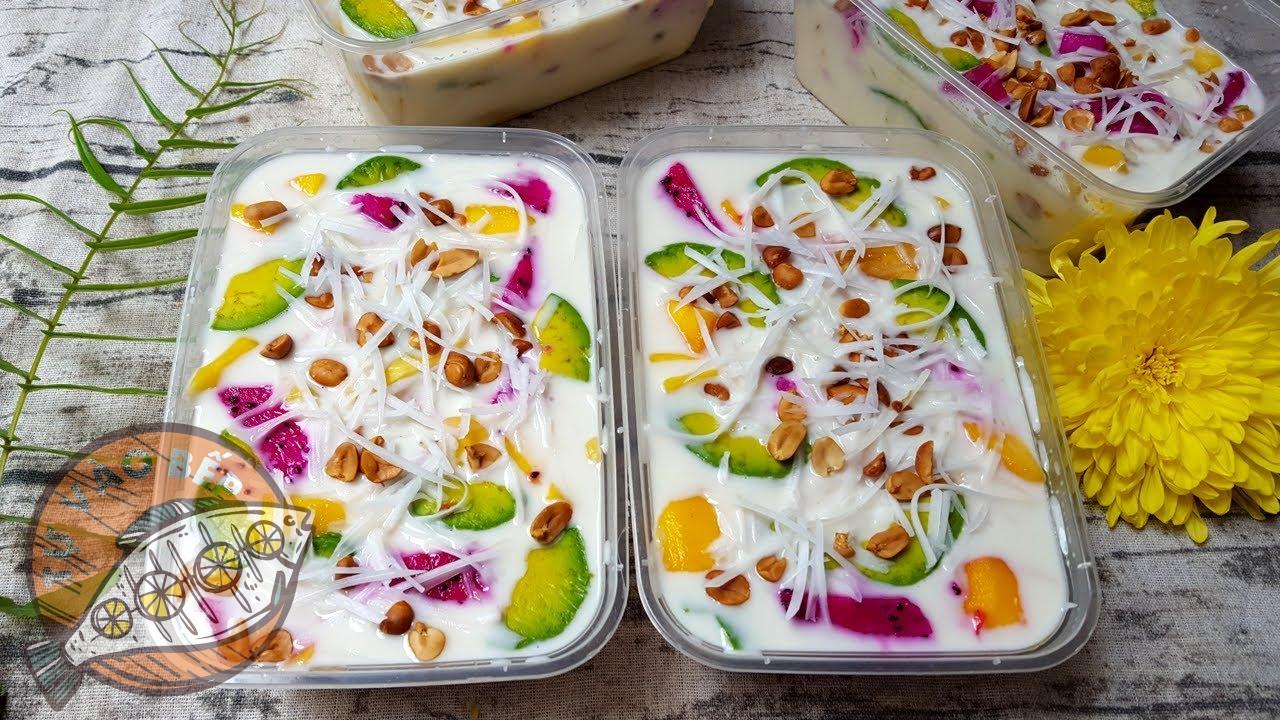cách làm kem yaourt